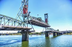 Hawthorne Bridge Fotografía de archivo