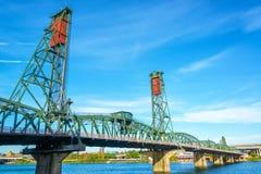 Hawthorne Bridge View photos stock