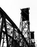 Hawthorne Street Bridge, Portland stock afbeeldingen