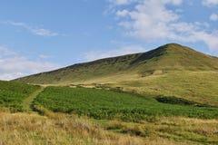 Hay блеф, маяки brecon, powys, вэльс стоковые фотографии rf