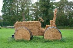 hay трактор стоковые фото