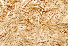 Hay background. Close up of hay as a background Stock Image
