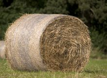 Hay Bale. Close up of a hay bale Stock Photography