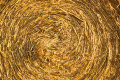 Hay bale background. A twisted hay bale background Stock Photography