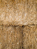 Hay bale closeup Royalty Free Stock Images
