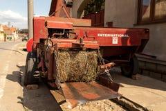 Free Hay Bale Machine Royalty Free Stock Photos - 43633478
