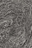 Hay bale monotone  Royalty Free Stock Images