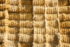 Hay bale texture Stock Images