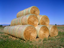 Free Hay Bales 2 Stock Photos - 1277943