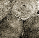 Hay Bales Close - Background Royalty Free Stock Images