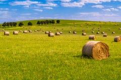 Hay bales 2 Royalty Free Stock Photography