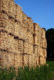 Hay bales stacked Royalty Free Stock Image
