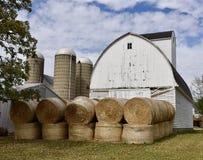Hay Barn imagem de stock royalty free