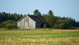 Hay Barn Royalty Free Stock Image