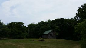 Hay Barn Image libre de droits