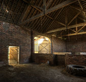 Hay Barn, Angleterre Images libres de droits