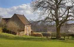 Free Hay Barn At Bourton-on-the-Hill Stock Photo - 39356250
