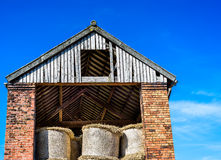 Hay Barn Royalty Free Stock Photography