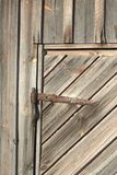 Hay barn door Stock Photos