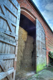 Hay barn doors, England Royalty Free Stock Image