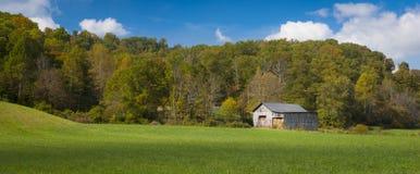 Hay Barn stock photography
