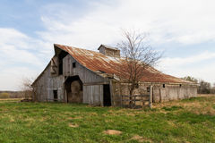 Hay Barn In The Midwest Foto de Stock Royalty Free