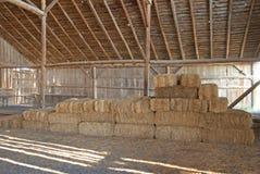 Hay Barn stock image