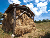 Hay barn Royalty Free Stock Photos