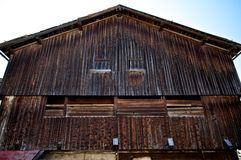 Hay barn Royalty Free Stock Images