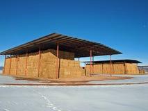 Hay Barns Royalty Free Stock Image