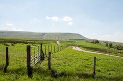Hay Bluff en de bergen van Engeland en Wales Stock Afbeeldingen