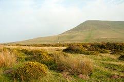 Hay Bluff en de Brecon-Bakens Royalty-vrije Stock Foto's