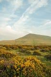 Hay Bluff y las montañas de Inglaterra y de País de Gales Imágenes de archivo libres de regalías