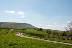 Hay Bluff y las montañas de Inglaterra y de País de Gales Fotos de archivo libres de regalías