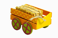 Hay Cart stock photos