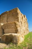 Hay at the country Royalty Free Stock Images