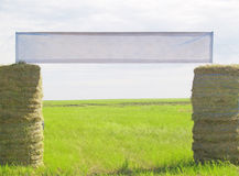 Hay door Stock Photography
