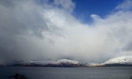 Hay el venir de la tormenta Foto de archivo