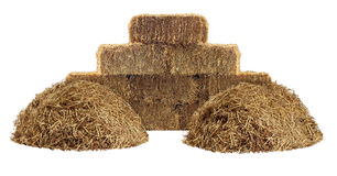 Hay Element Royalty Free Stock Photography