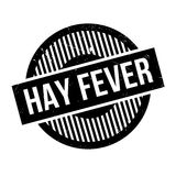 Hay Fever rubber stamp. Grunge design with dust scratches. Effects can be easily removed for a clean, crisp look. Color is easily changed Stock Photos