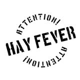 Hay Fever rubber stamp. Grunge design with dust scratches. Effects can be easily removed for a clean, crisp look. Color is easily changed Royalty Free Stock Image