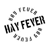 Hay Fever rubber stamp. Grunge design with dust scratches. Effects can be easily removed for a clean, crisp look. Color is easily changed Royalty Free Stock Images