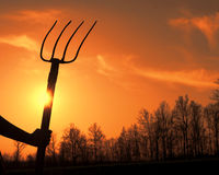 Free Hay Fork Royalty Free Stock Images - 39445259