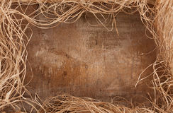 Hay frame Royalty Free Stock Images