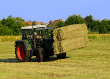 Hay harvest Royalty Free Stock Images