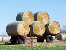 Hay Harvest stock photography