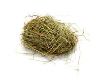 Hay, isolated on white Stock Images