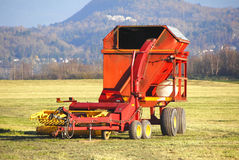 Hay Maker Royalty Free Stock Images
