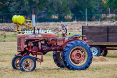 Hay rides trailer Royalty Free Stock Photo