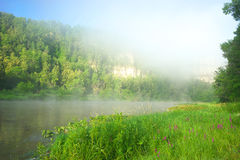Hay River. Russia, South Ural. Stock Photography